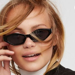 FREE PEOPLE 'what's your angle' VINTAGE SUNGLASSES
